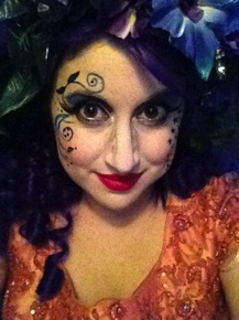 Dorothy's Adventures in Oz (Santa Monica Playhouse) - as Polychrome; makeup by Gray Silbert